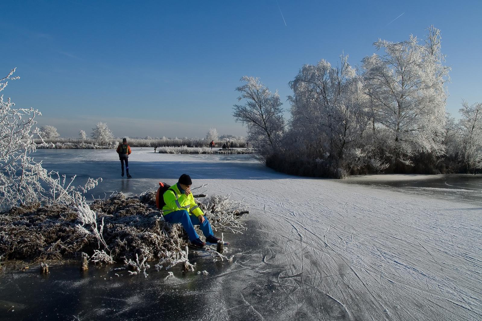 Temperaturen duikelen weer omlaag: schaatsen uit de kast