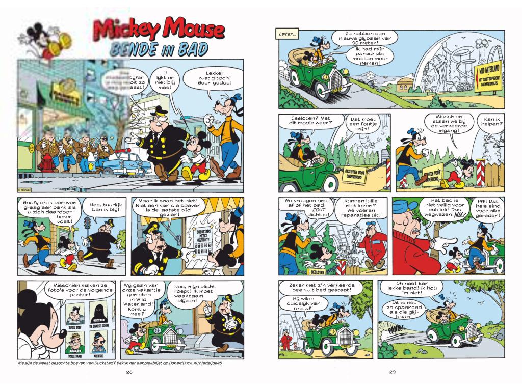 13 januari 1930: de eerste strip van Mickey Mouse verscheen