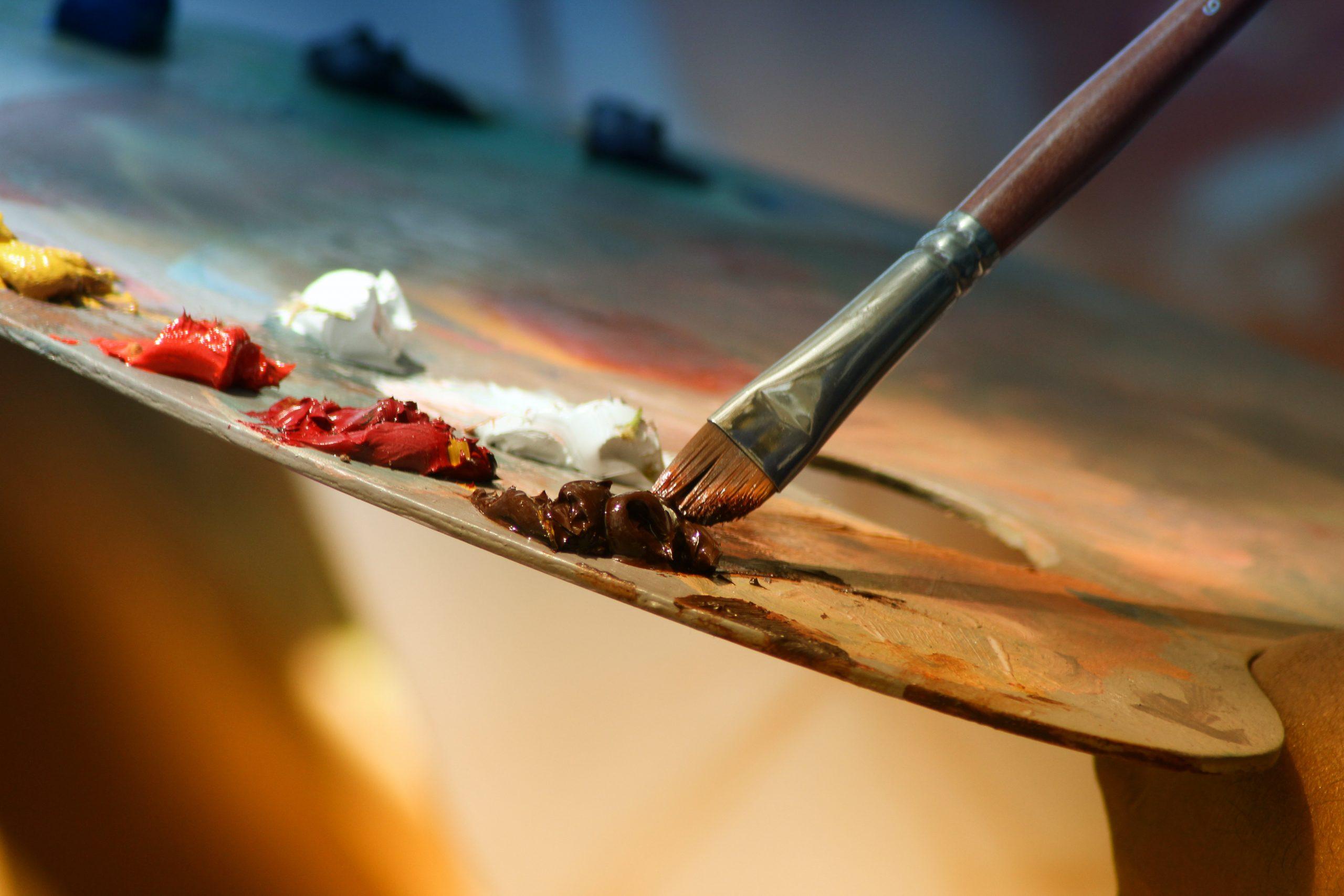 Gastschrijver Rinnie over schilderen aan het water